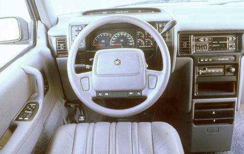 1991 Plymouth Voyager 2 D interior #6