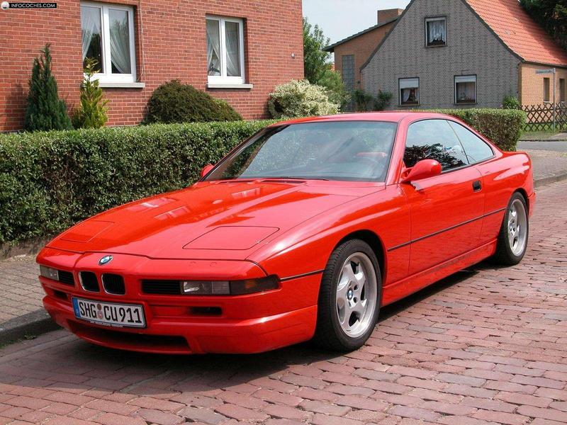 1992 Bmw 8 Series Image 6
