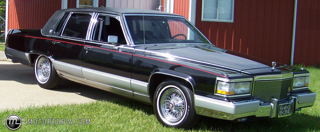 1992 Cadillac Brougham - Information and photos - ZombieDrive