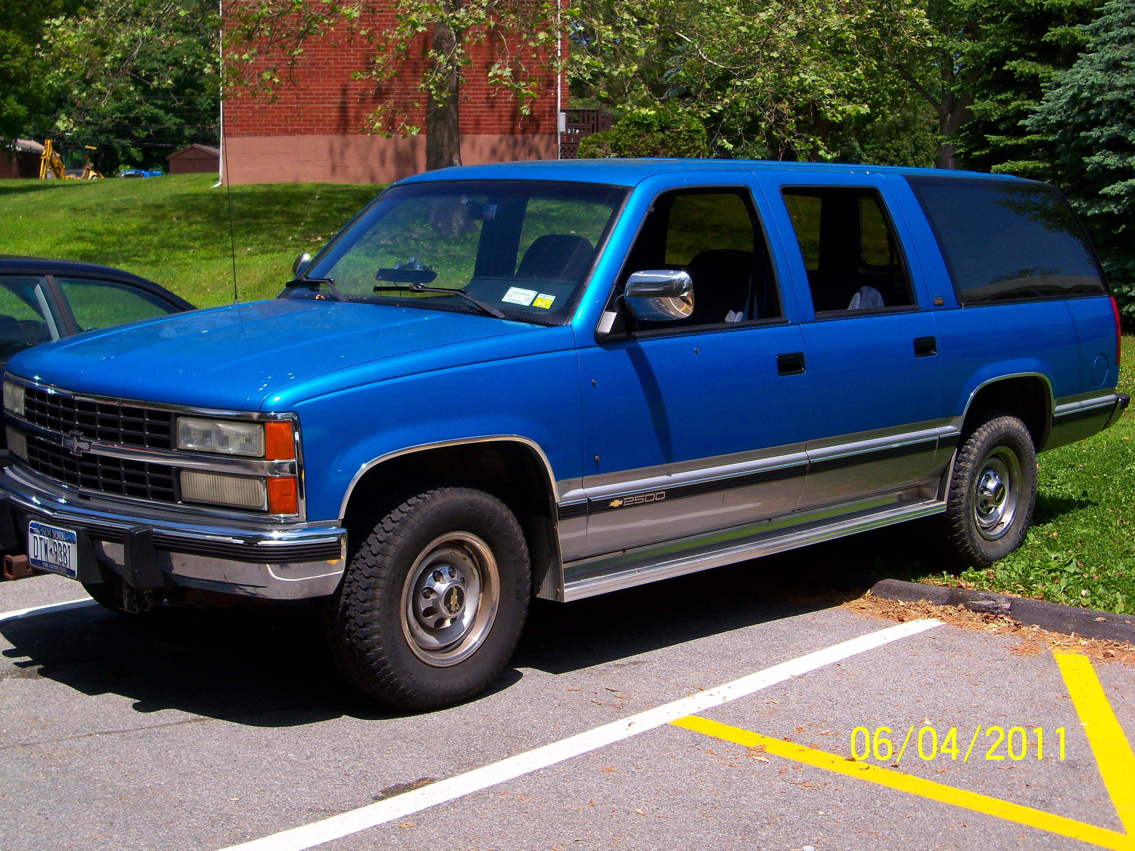1992 chevrolet suburban 4 chevrolet suburban 4
