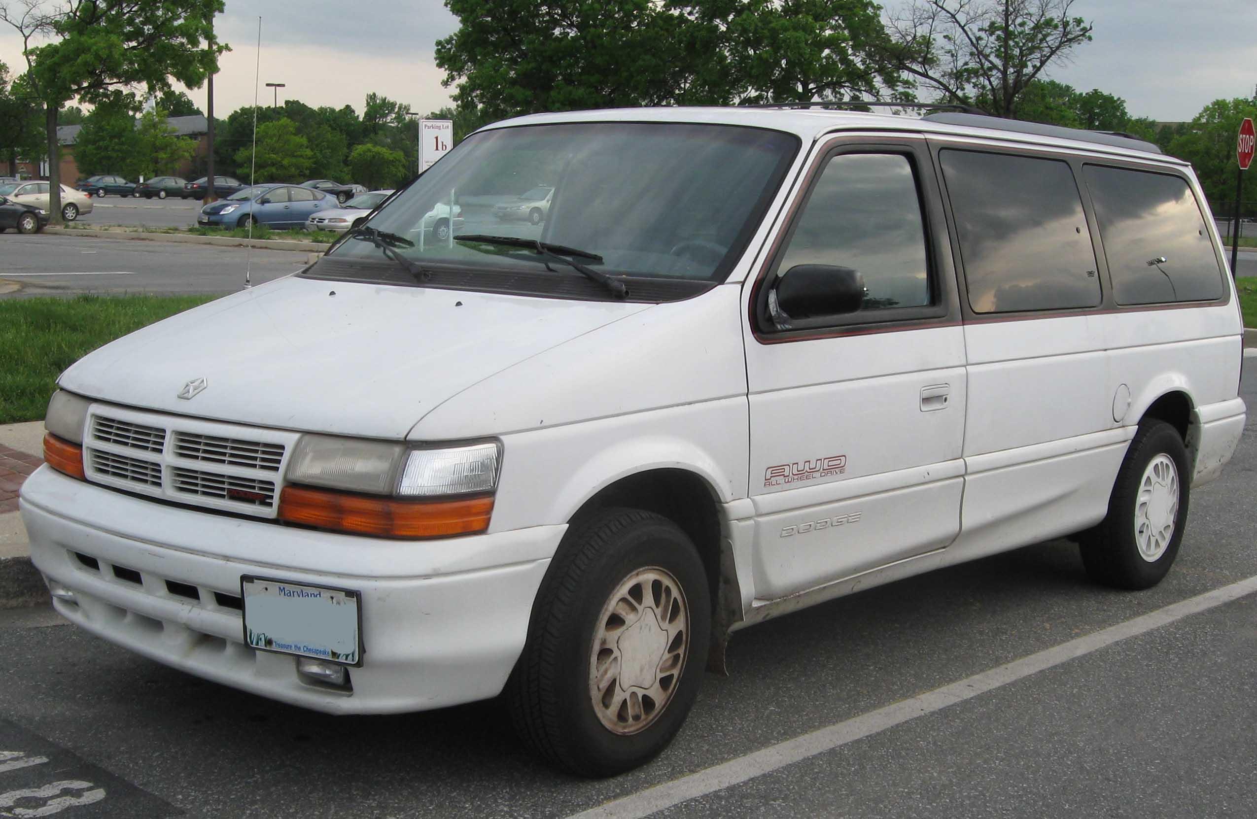 1992 dodge grand caravan image 1 rh zombdrive com 1990 Dodge Caravan 1993  Dodge Caravan