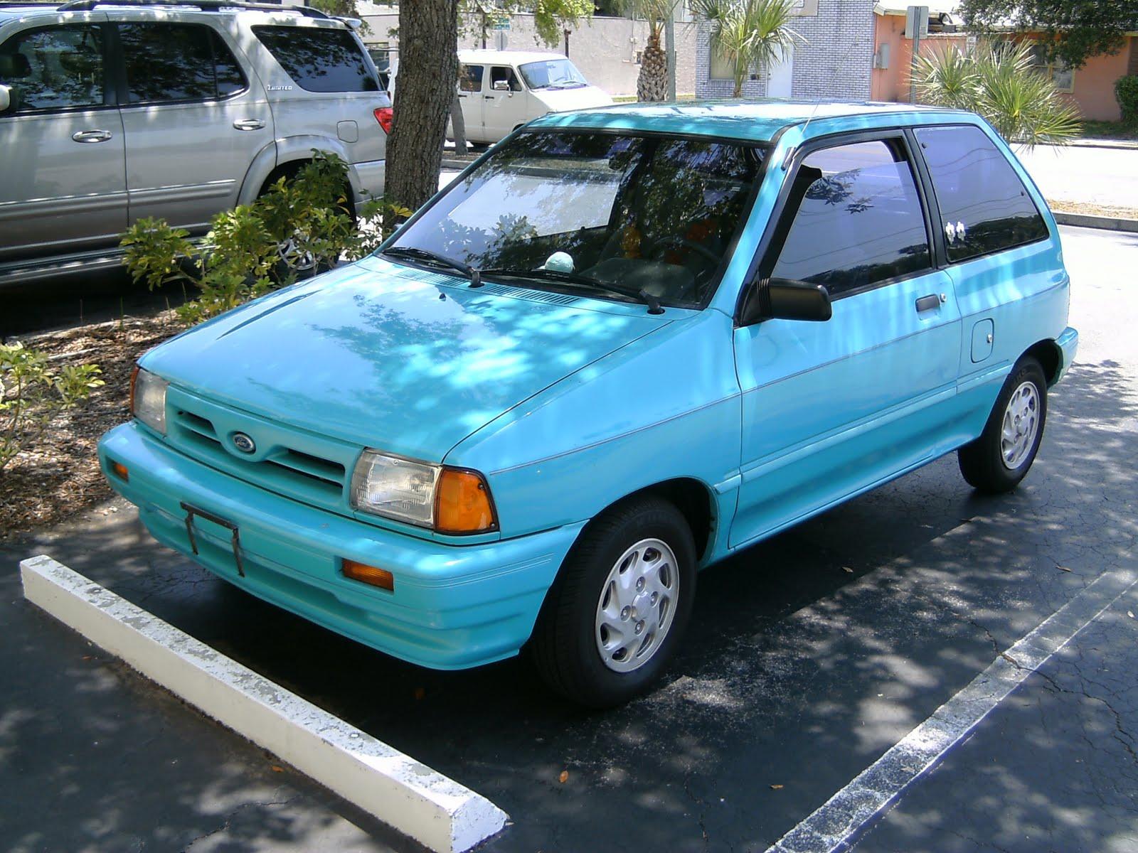 1992 Ford Festiva 10