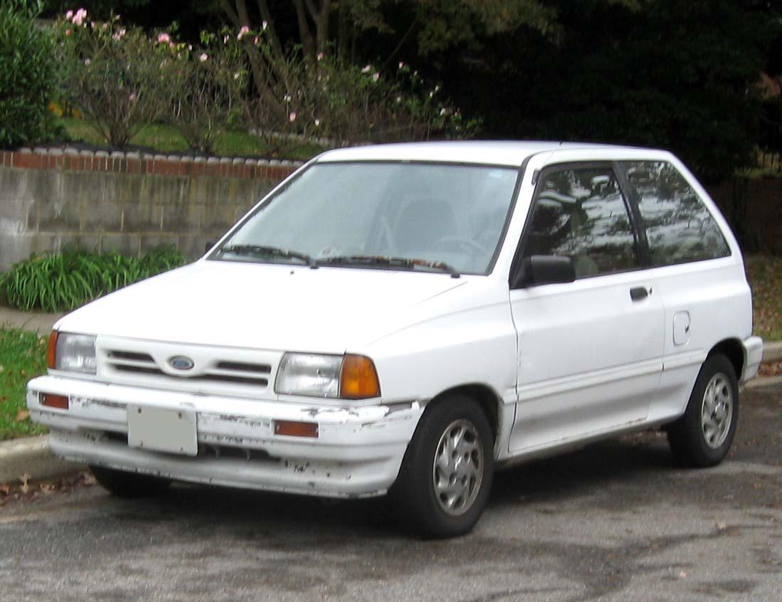 1992 Ford Festiva 9