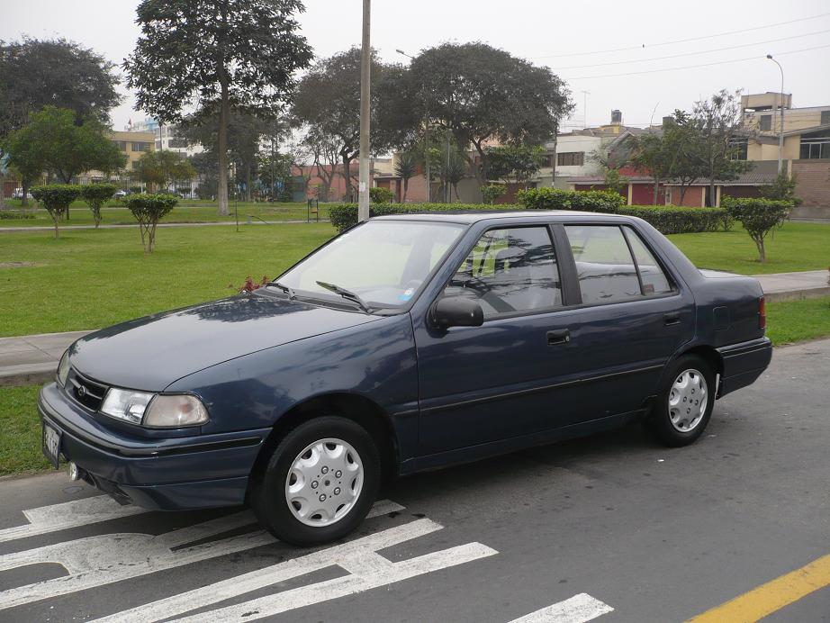 1992 Hyundai Excel - Information and photos - ZombieDrive