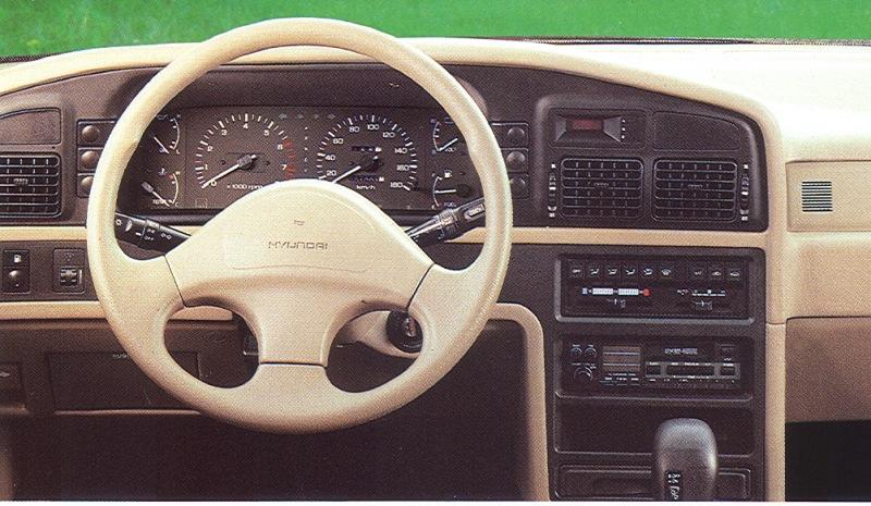 1992 Hyundai Sonata Image 5