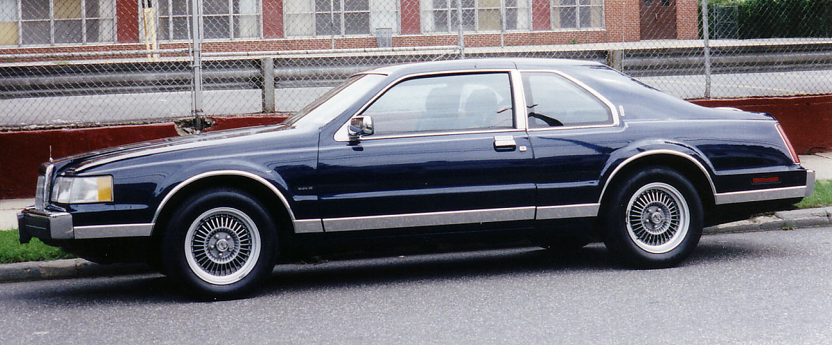 1992 Lincoln Mark Vii Information And Photos Zombiedrive