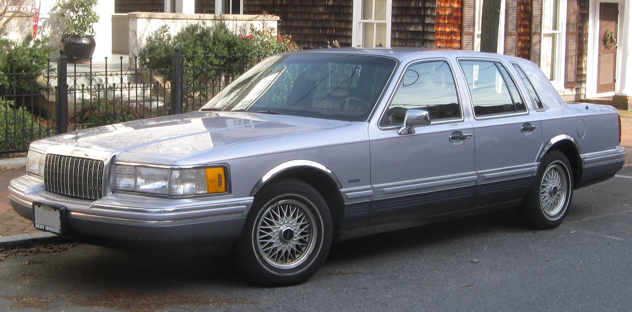1992 Lincoln Town Car #3 Lincoln Town Car #3