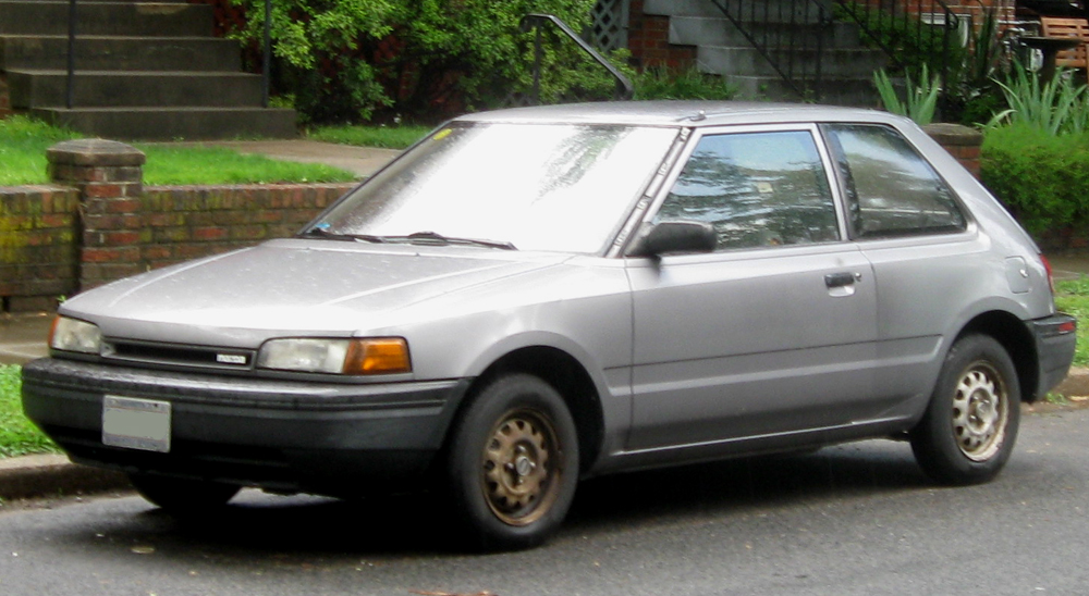 1992 Mazda 323 Information And Photos Zombiedrive