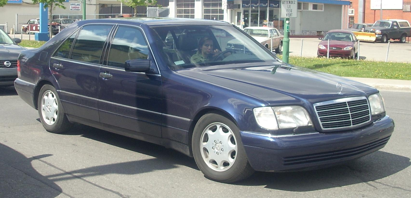 1992 mercedes benz 600 class information and photos for Mercedes benz 1992