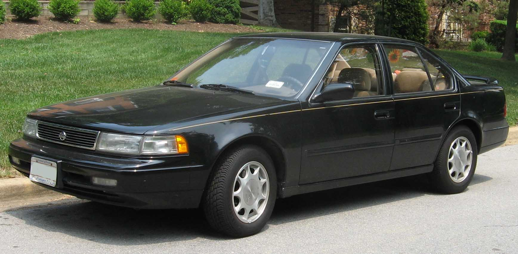Nissan Maxima Reliability >> 1992 Nissan Maxima Black | 200+ Interior and Exterior Images