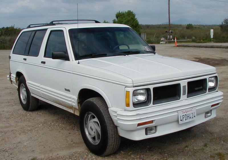 Oldsmobile Bravada 1996 Oldsmobile Bravada 11