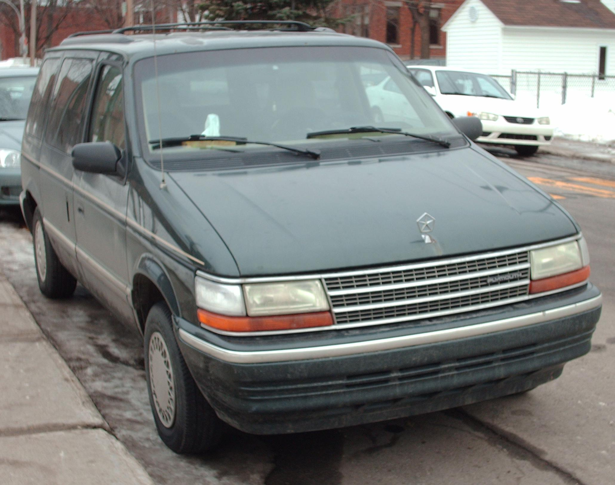 Plymouth Voyager #8