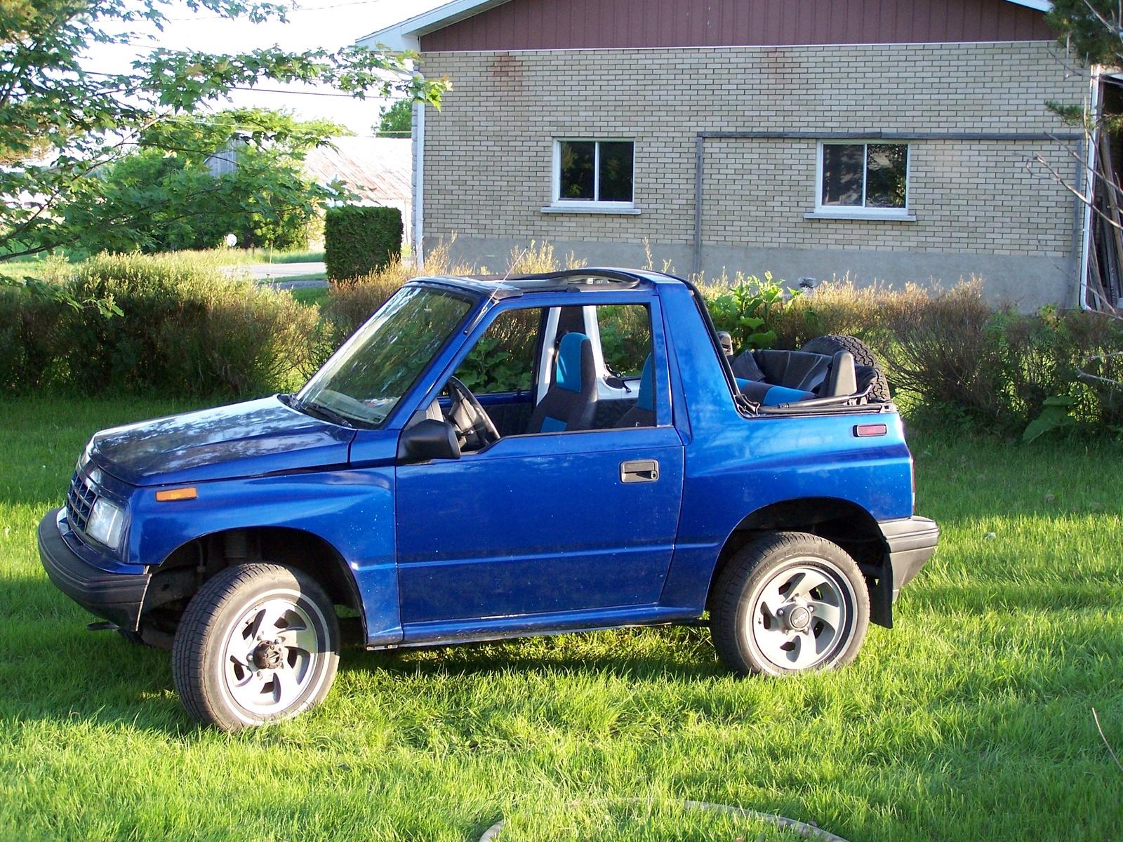 1992 Suzuki Sidekick - Information and photos - ZombieDrive