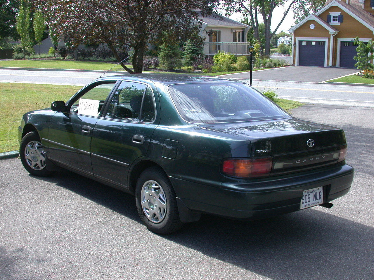 1992 Toyota Camry - Information And Photos