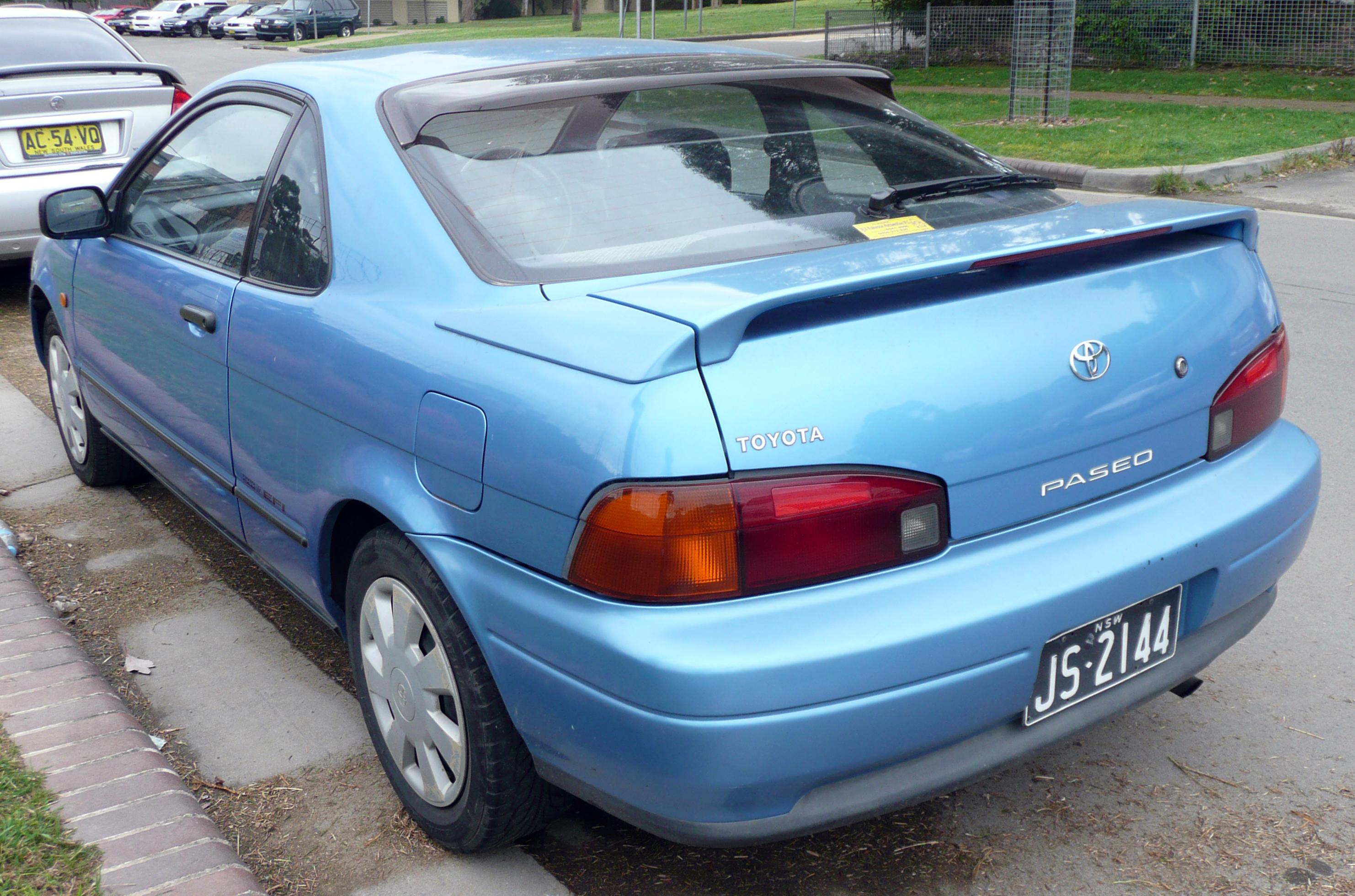 1992 Toyota Paseo #10 Toyota Paseo #10