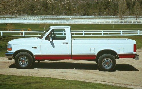 1992 Ford F-150 2 Dr XLT  exterior #1