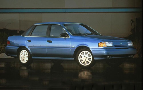 1992 Ford Tempo 4 Dr GLS  exterior #1