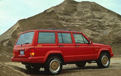 1992 Jeep Cherokee 4 Dr L exterior #1