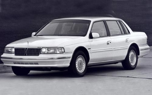 1993 Lincoln Continental  exterior #2