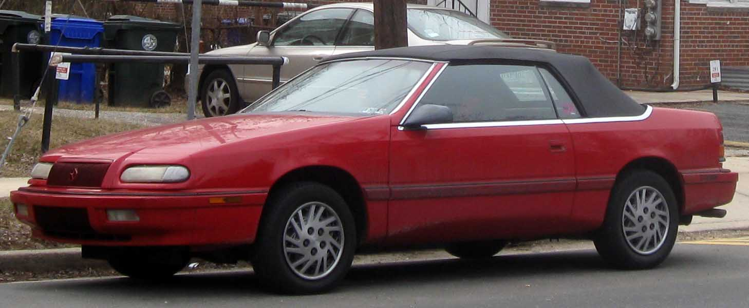 Chrysler Le Baron #10