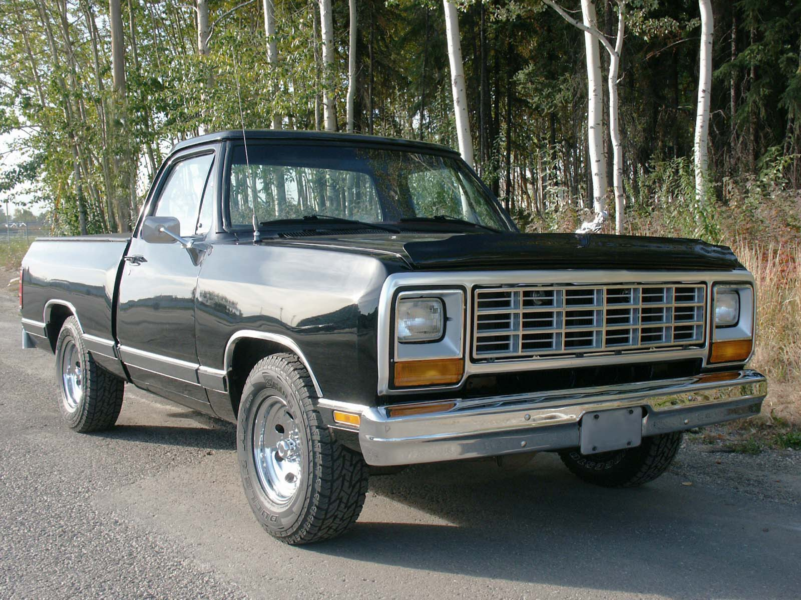 1993 Dodge Ram 50 Pickup Information And Photos Zombiedrive 1980 Truck Parts 2
