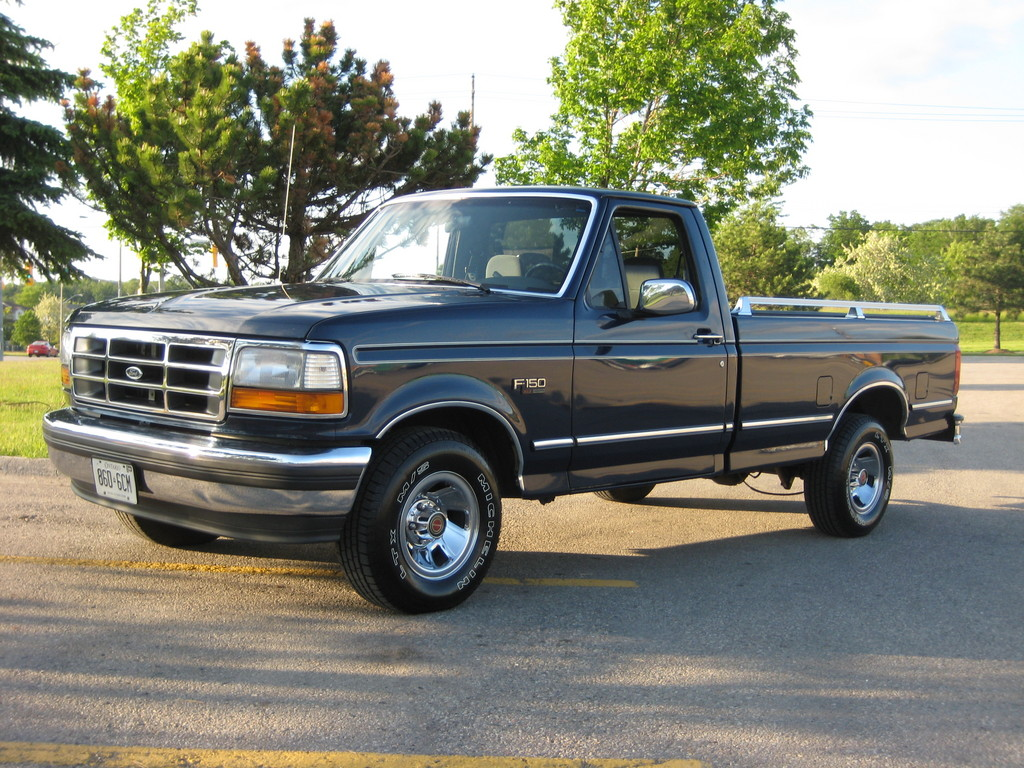 1993 Ford F 150 Green 200 Interior And Exterior Images