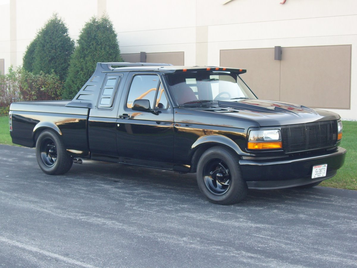 1993 ford f 150 svt lightning information and photos. Black Bedroom Furniture Sets. Home Design Ideas