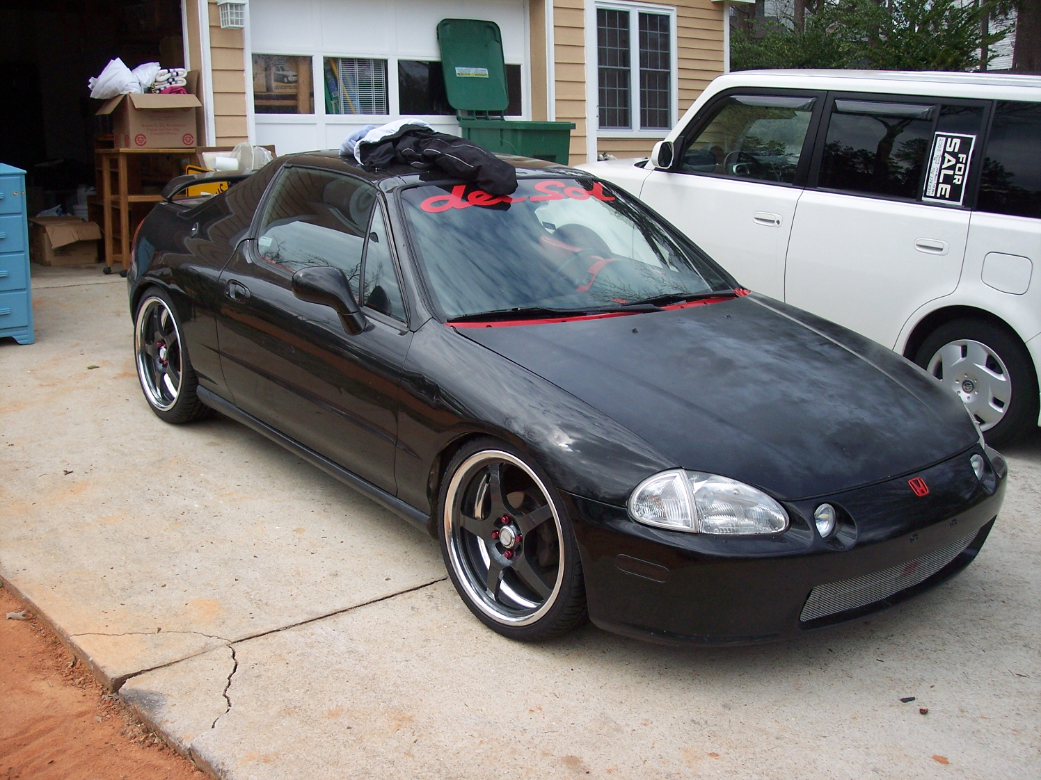 1993 Honda Civic Del Sol Information And Photos Zombiedrive