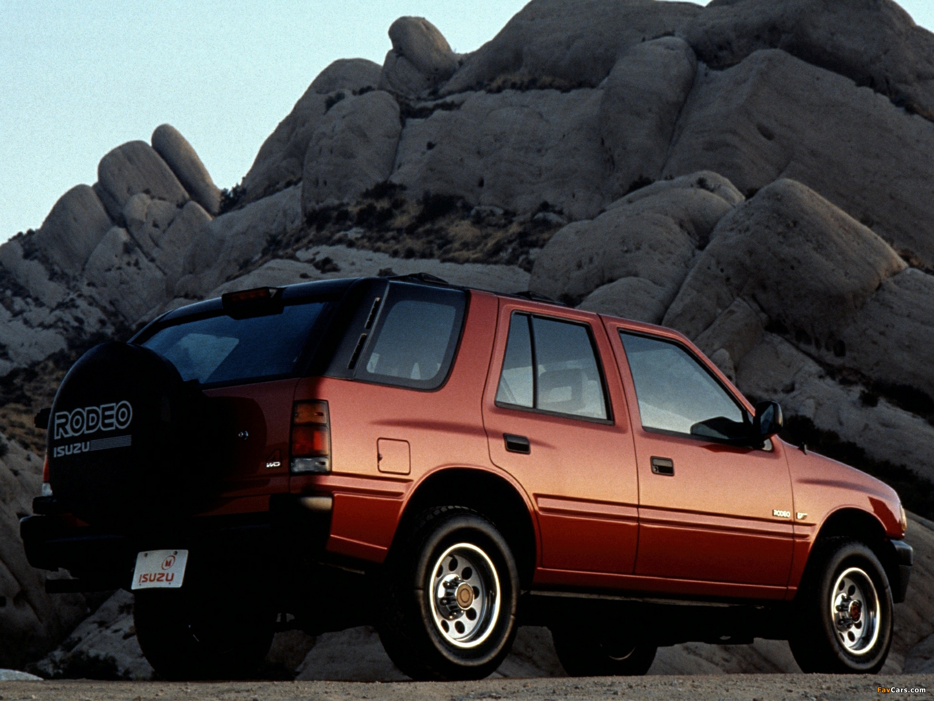 1993 isuzu rodeo information and photos zombiedrive
