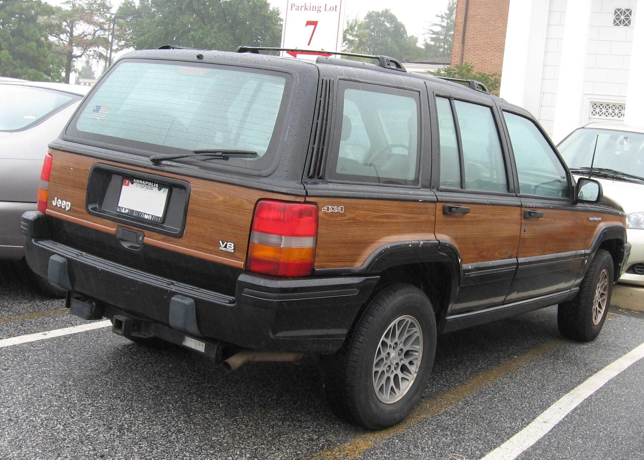 Jeep Grand Wagoneer >> 1993 JEEP GRAND WAGONEER - Image #10