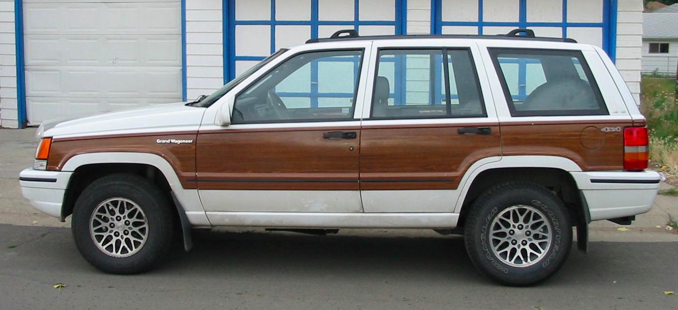 Jeep Grand Wagoneer >> 1993 JEEP GRAND WAGONEER - Image #9