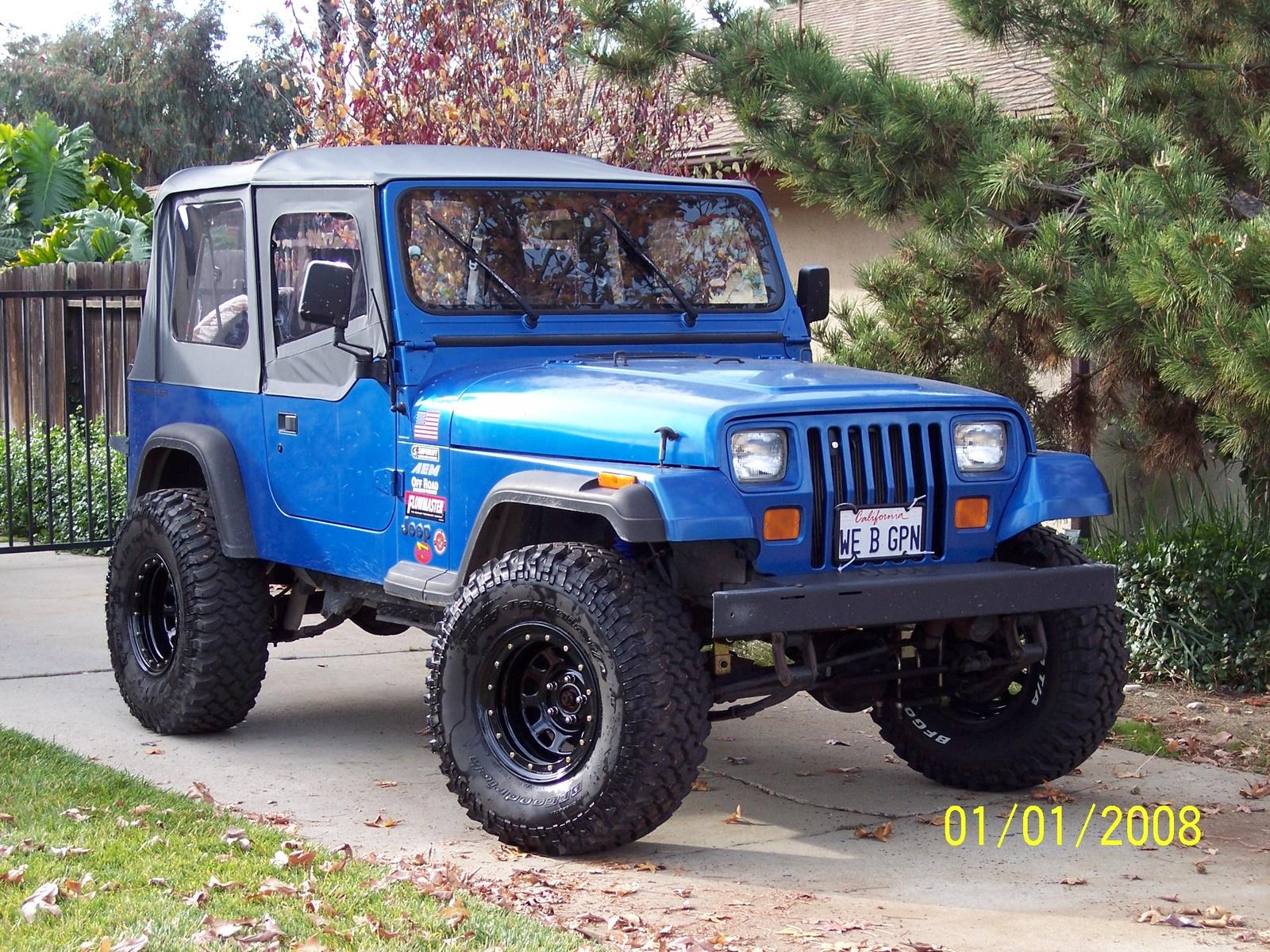 1993 Jeep Wrangler Information And Photos Zombiedrive
