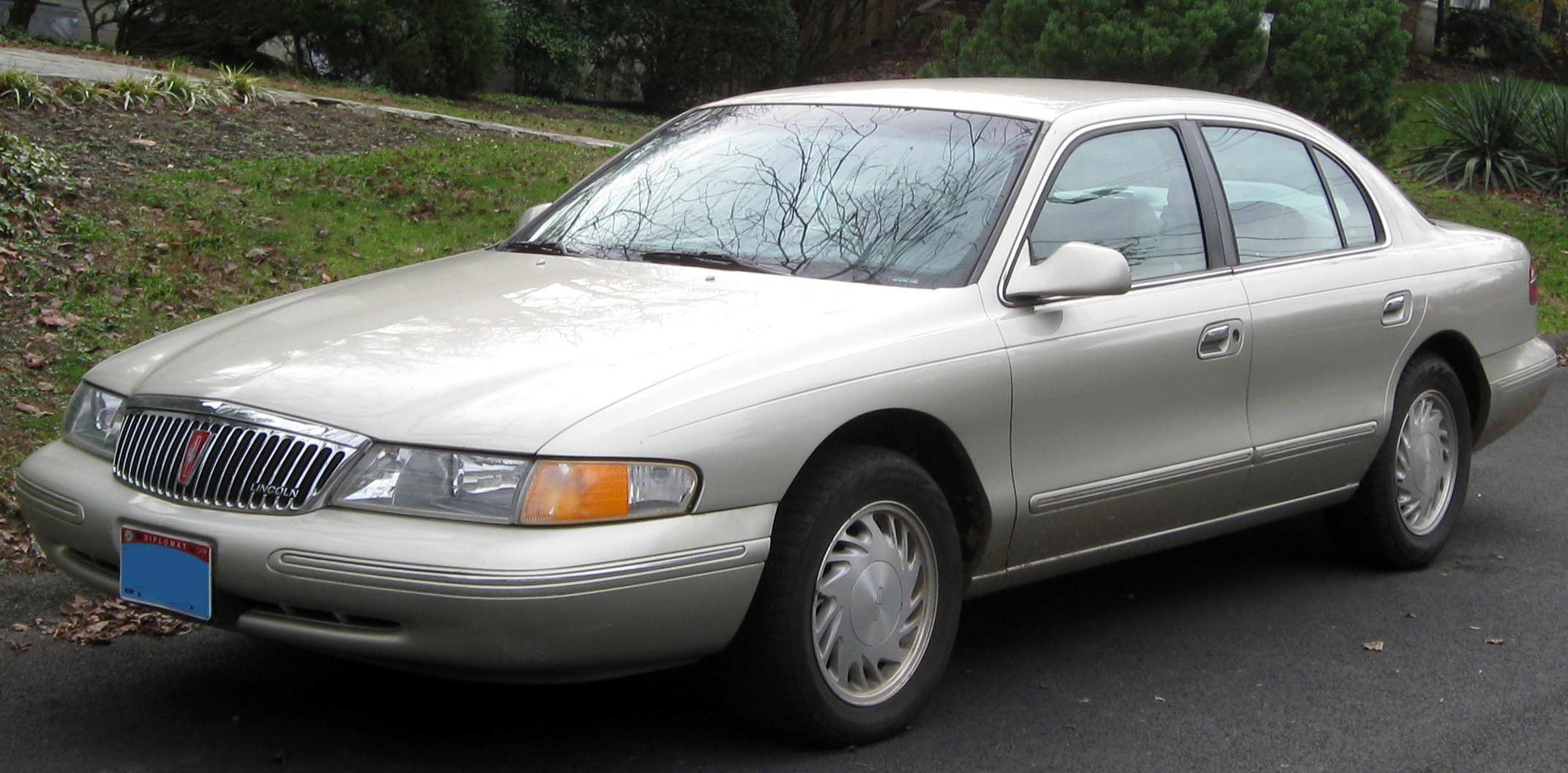1993 Lincoln Continental Image 3