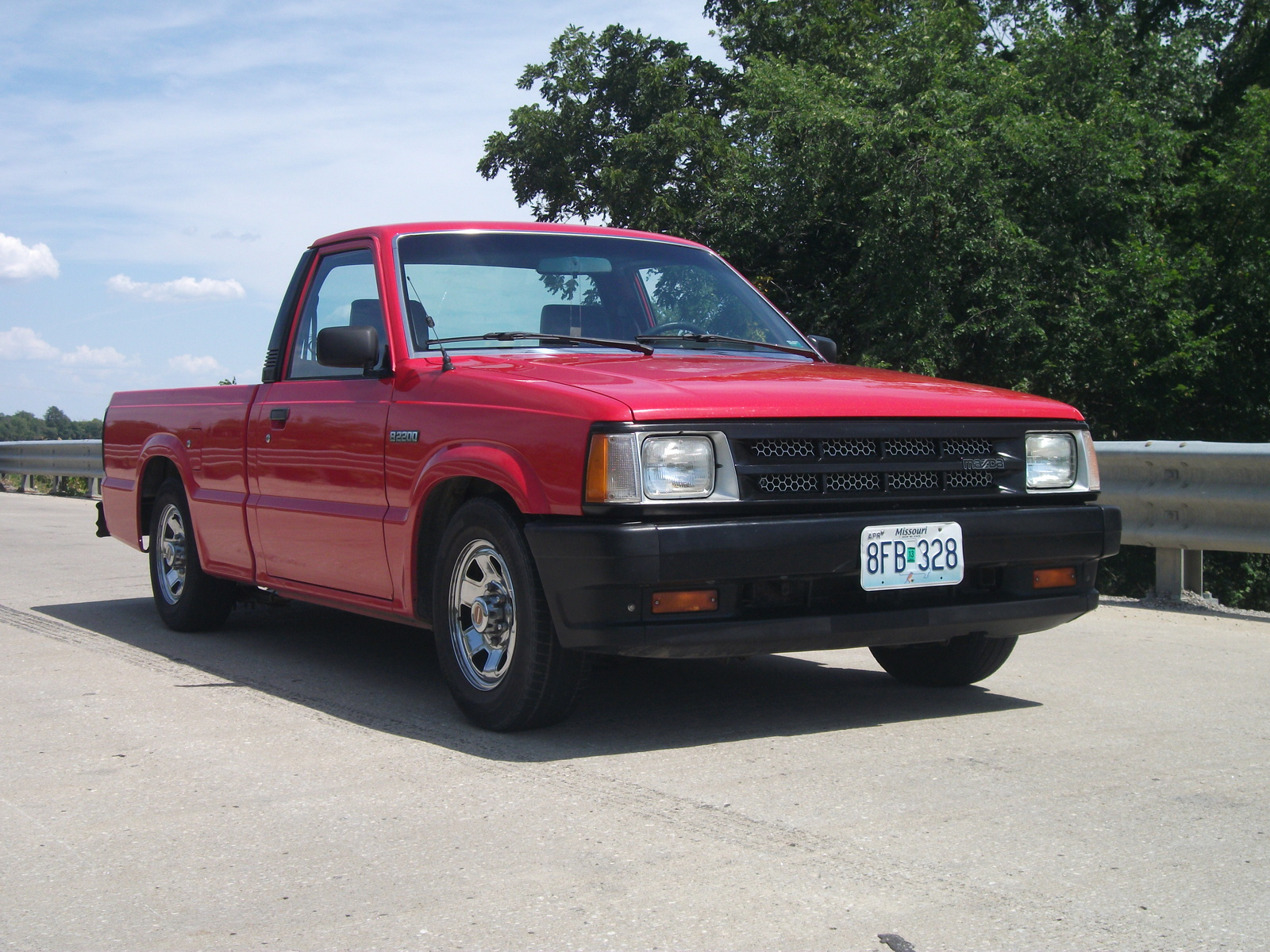 1993 mazda b series pickup information and photos zombiedrive. Black Bedroom Furniture Sets. Home Design Ideas
