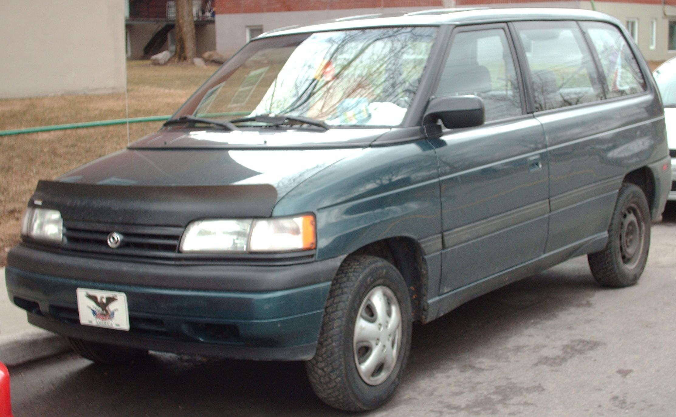 1993 Mazda MPV - Information and photos - ZombieDrive