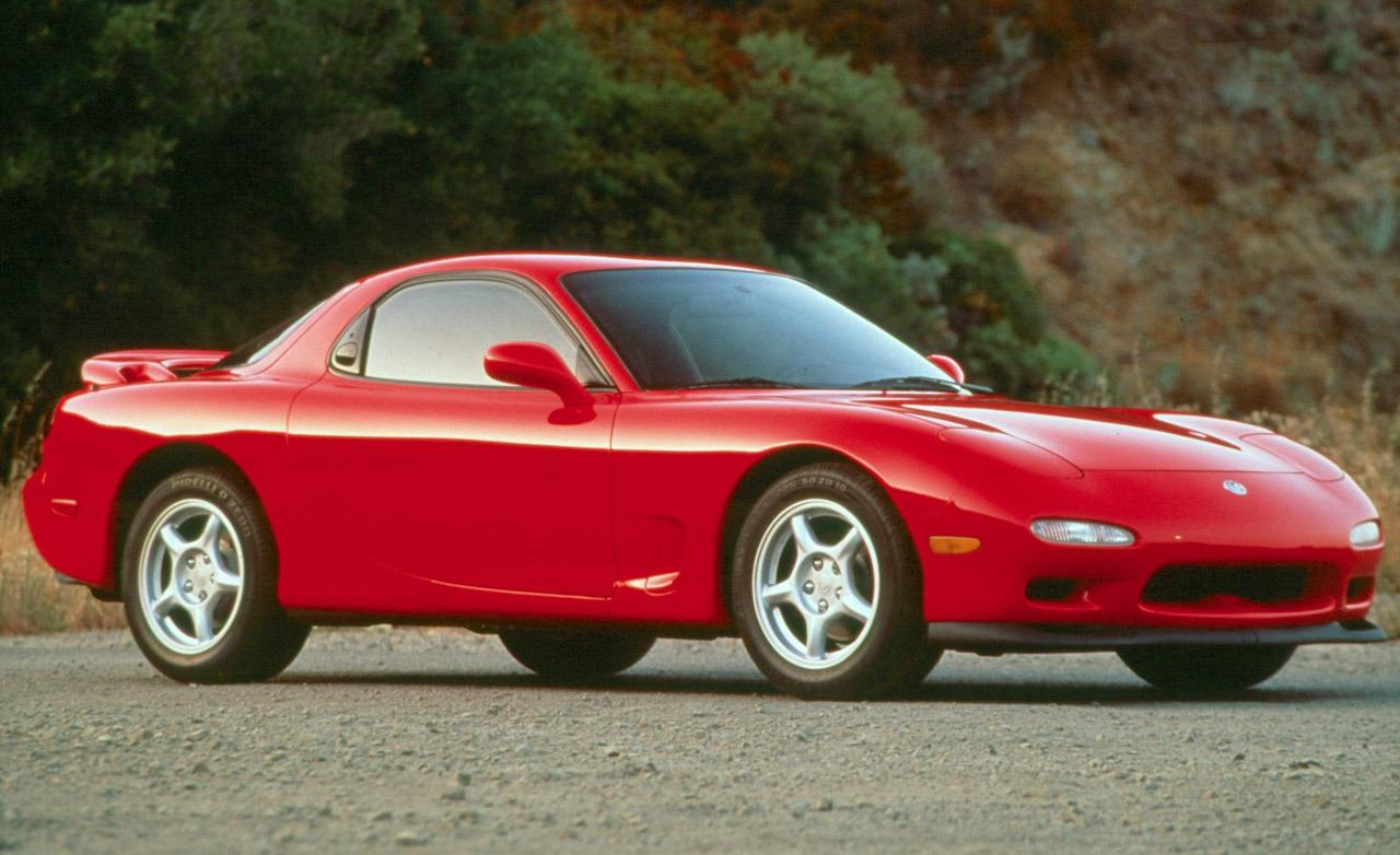 1993 mazda rx 7 information and photos zombiedrive. Black Bedroom Furniture Sets. Home Design Ideas