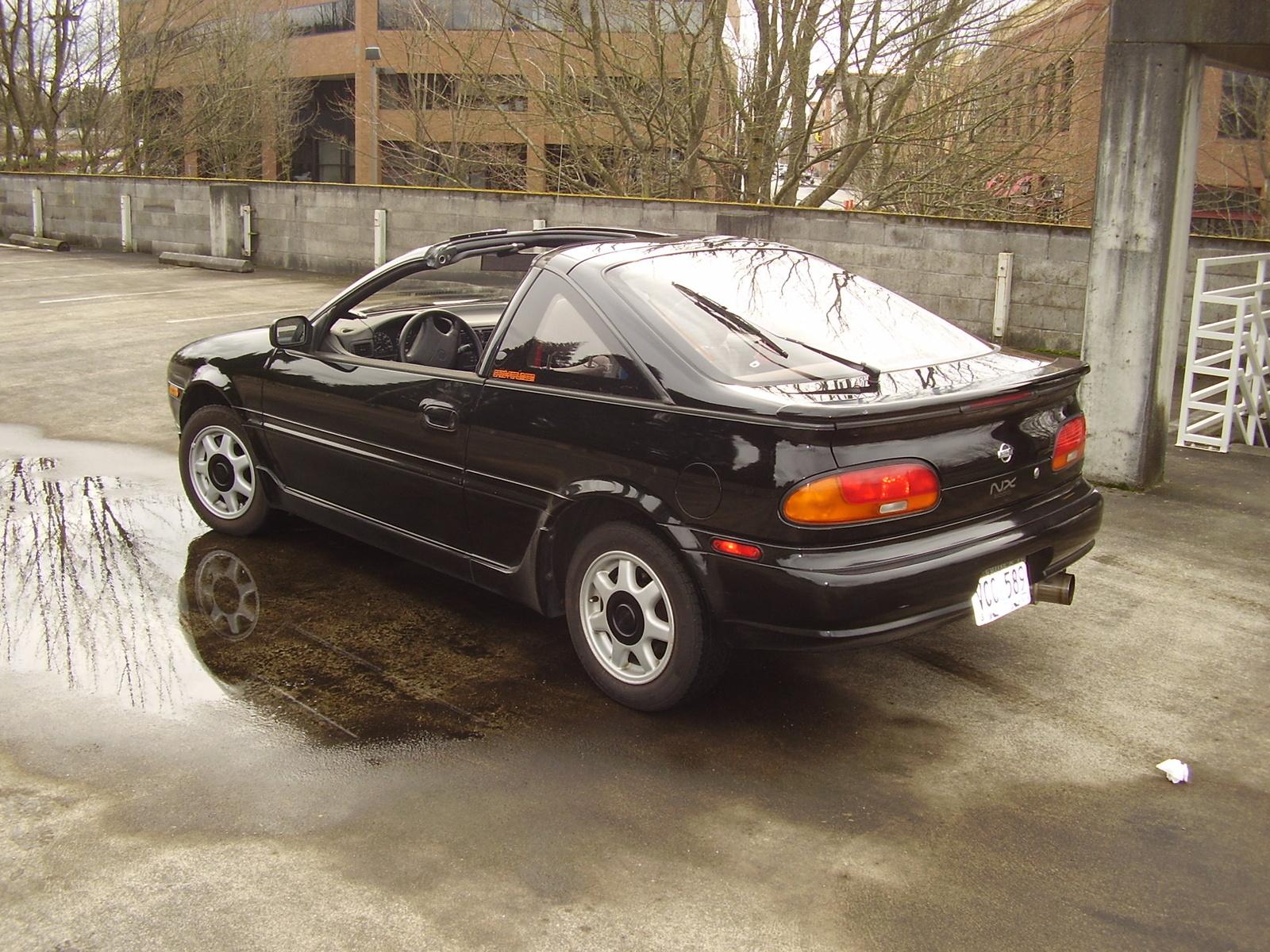 1993 Nissan Nx2000 1993 Nissan nx 6 Nissan nx 6
