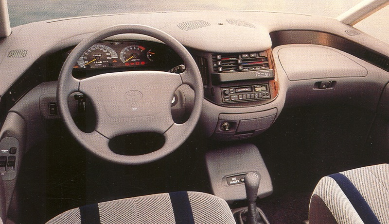 1993 Toyota Previa Information And Photos Zombiedrive