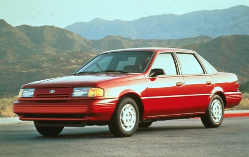 1993 Ford Tempo 4 Dr GL S exterior #1