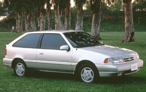 1993 Hyundai Excel - Information and photos - ZombieDrive