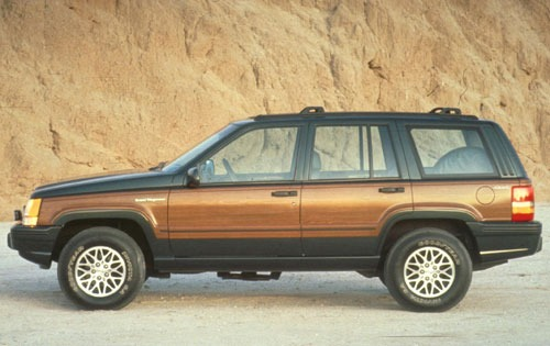 1993 Jeep Grand Wagoneer  exterior #2
