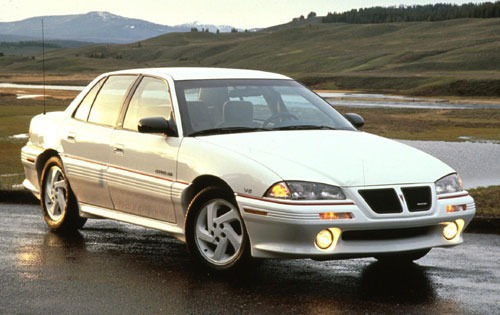 1993 Pontiac Grand Am 4 D exterior #1