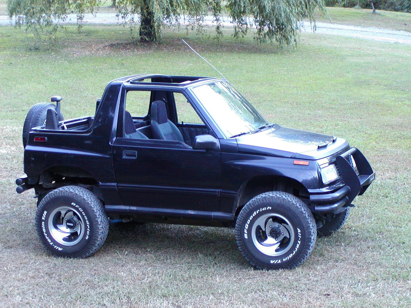 Jeep Jk 2dr 1 Pc also Product info likewise Jeep Jk Hardtop 4dr Slant together with Sj samurai deluxe original km 1989 besides Chevy Tracker 99 2 Pc. on suzuki sidekick hardtop