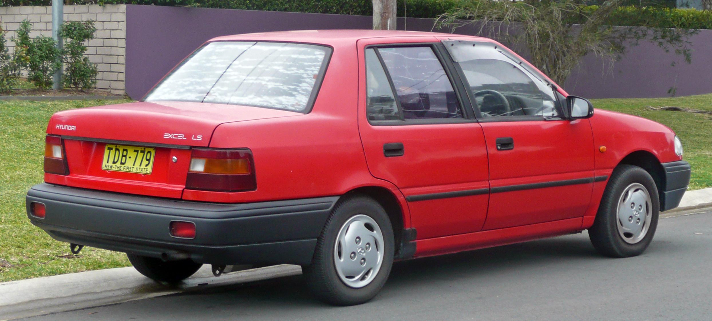hyundai excel, 1994
