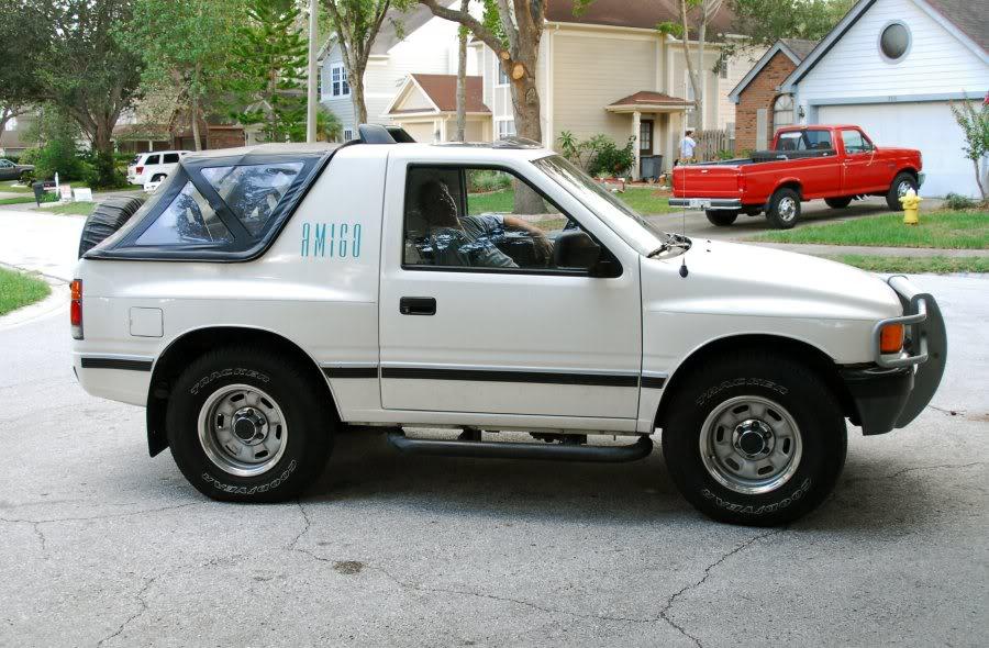 1994 Isuzu Amigo - Information and photos - Zomb Drive
