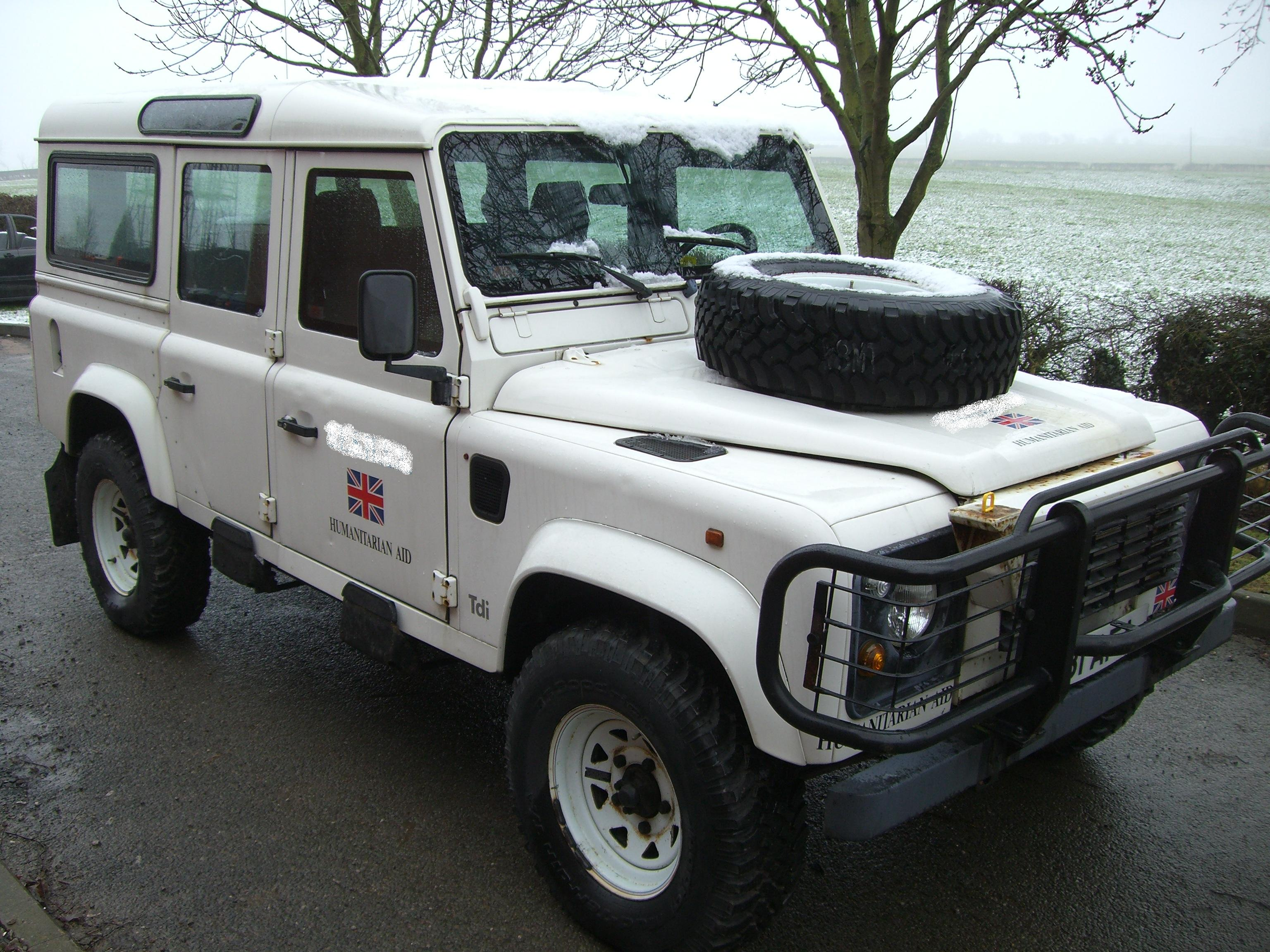 1994 Land Rover Defender - Information and photos - ZombieDrive