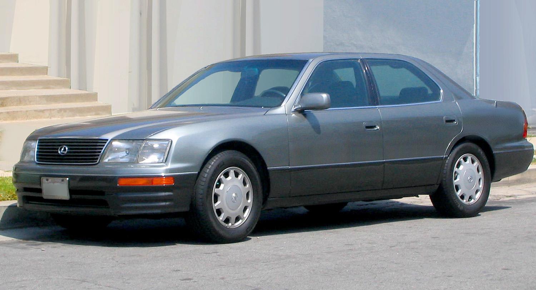 1994 lexus ls400 mpg
