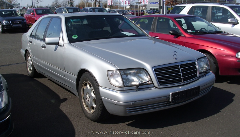 1994 mercedes benz s class information and photos