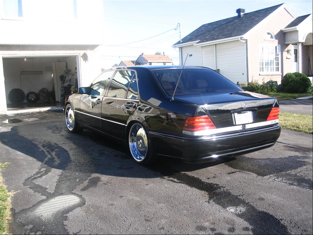 1994 mercedes benz s class information and photos for Mercedes benz 1994