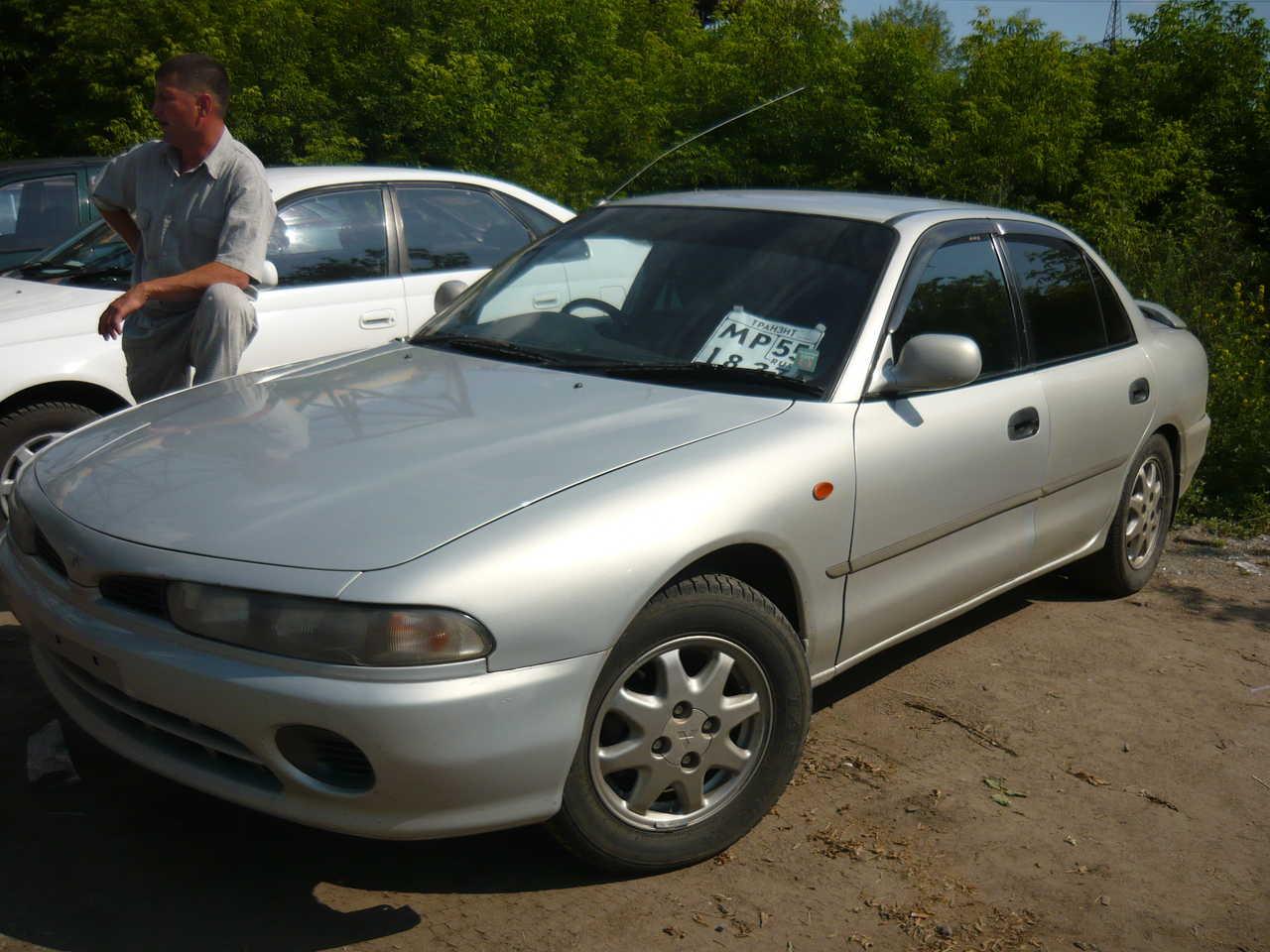 Mitsubishi Galant on 1994 Mitsubishi Galant